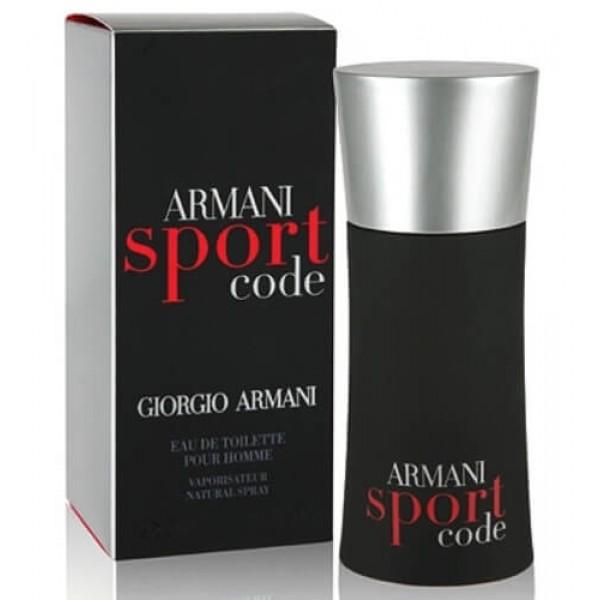 armani code sport edt 125ml for men. Black Bedroom Furniture Sets. Home Design Ideas