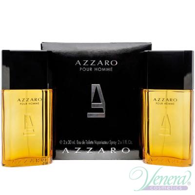 Azzaro Pour Homme Set (EDT 30ml + EDT 30ml) for Men Men's Gift sets