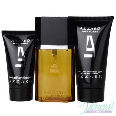 Azzaro Pour Homme Set (EDT 30ml + AS Balm 30ml + SG 50ml) for Men Men's
