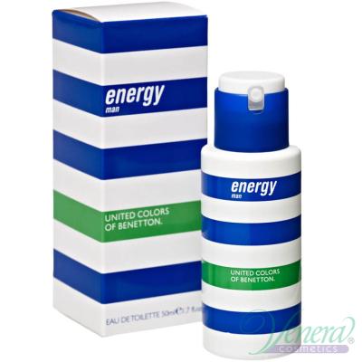 Benetton Energy EDT 50ml for Men Men's Fragrance