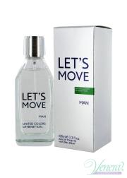 Benetton Let's Move EDT 40ml for Men Men's Fragrance