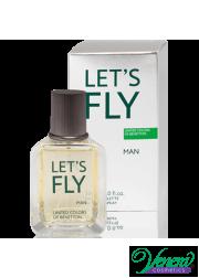Benetton Let's Fly EDT 30ml for Men