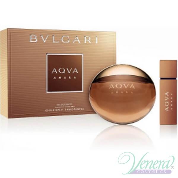 2e71289a7a Bvlgari Aqva Amara Set (EDT 100ml + 15ml) for Men