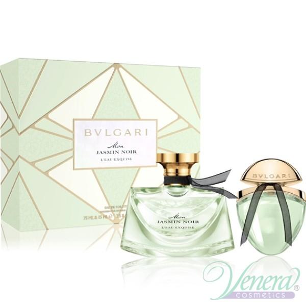 Bvlgari Mon Jasmin Noir L'Eau Exquise Set (EDT 75ml + EDT 15ml) for Women
