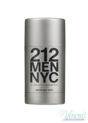 Carolina Herrera 212 Deo Stick 75ml for Men Men's face and body product's