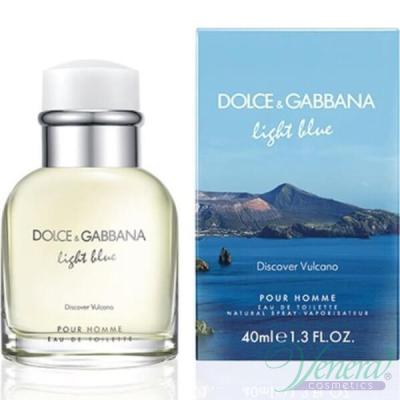 D&G Light Blue Discover Vulcano EDT 40ml for Men Men's