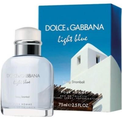 Dolce&Gabbana Light Blue Living Stromboli EDT 40ml for Men
