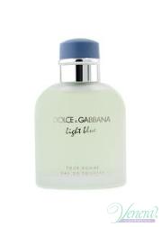 D&G Light Blue EDT 125ml for Men Without Package Men's