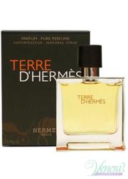 Hermes Terre D'Hermes Pure Parfum 75ml for Men Men's Fragrance