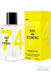 Iceberg Eau de Iceberg Sandalwood EDT 100ml for Men Men's Fragrance