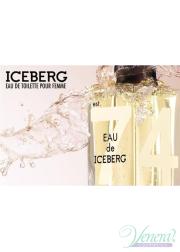 Iceberg Eau de Iceberg Pour Femme EDT 100ml for Women Women's Fragrance