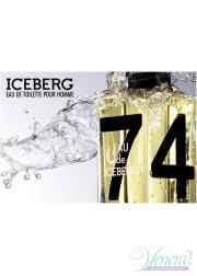 Iceberg Eau de Iceberg Pour Homme EDT 100ml for Men Men's Fragrance