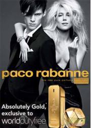 Paco Rabanne 1 Million Absolutely Gold Perfume 100ml for Men Men's Fragrance