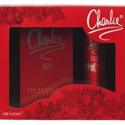Revlon Charlie Red Set (EDT 100ml + Deo 75ml) for Women