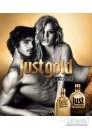 Roberto Cavalli Just Cavalli Gold Him EDP 50ml for Men