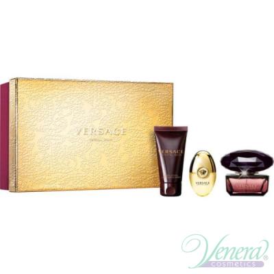 Versace Crystal Noir Set (EDT 50ml + EDT 10ml + BL 50ml) for Women Women's
