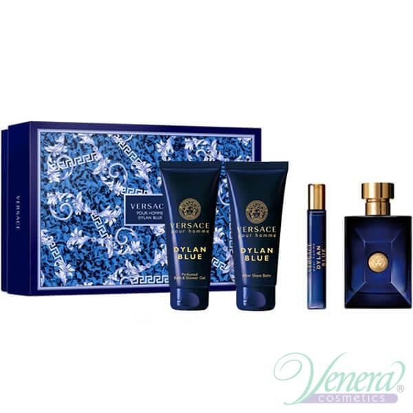 Versace Pour Homme Dylan Blue Set (EDT 100ml + EDT 10ml + SG ... 0f0b1f05f9b