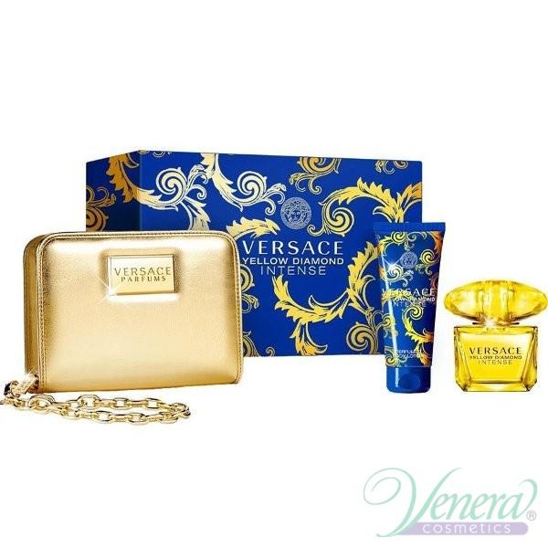 a6477fba7f9e Versace Yellow Diamond Intense Set (EDT 90ml + BL 100ml + Bag ...
